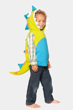 Glammic Dinosaur costume. Made in San Francisco.  Available in limited quantities at Glammic.com