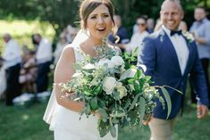 Bree's white and green bouquet was a joy to create and matched her personality perfectly! www.jademcintoshflowers.com.au www.littleblackbowphotography.com.au Wedding Bouquets, Wedding Dresses, Spring Bouquet, Wedding Season, Favorite Color, Jade, Personality, Neutral, Create