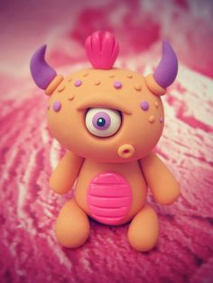 Clay monster!