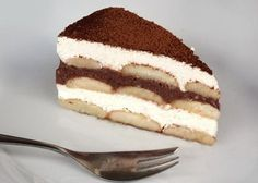 Sweet Desserts, No Bake Desserts, Sweet Recipes, Czech Recipes, Chocolate Pies, Breakfast Snacks, Graham Crackers, No Bake Cake, Tiramisu