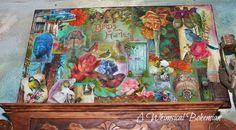 A Whimsical Bohemian Studio-collage...