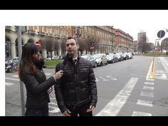 Scanderebech (PD) risoluzione pista ciclabile di Piazza Statuto Torino p...