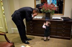 President Obama's Impossibly Cute Moments With Kids: Throughout his time in office, President Obama has shared more than a few sweet moments with kids.