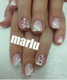 Dali, Erika, Nail Art Designs, Beauty, Amor, Colorful Nails, Girls Hairdos, Pedicures, Cute Nails