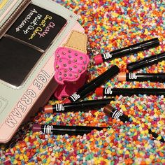 When you have all the right accessories for your trip to the @museumoficecream's pool of sprinkles  #LoveOfColor