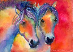 Svetlana Novikova, Two Horses