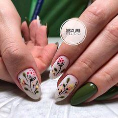 152 cute nail art designs for short nails 2019 page 26 nailart Cute Nail Art Designs, Nail Art Cute, Nail Designs Spring, Cute Nails, Spring Nail Art, Spring Nails, Summer Nails, Nail Art Mignon, Hair And Nails