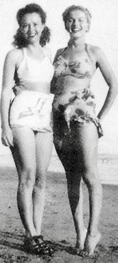 Norma Jean, and her sister Berniece