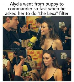 This just shows how good of an actor she is Lexa The 100, The 100 Clexa, The 100 Cast, The 100 Show, Hunger Games, The 100 Quotes, 100 Memes, Alycia Jasmin Debnam Carey, Clarke And Lexa