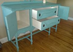 SOLD EXAMPLE...........Chalk Painted by newbeginningsdecor on Etsy #chalkpaintedfurniture