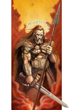 Odin by *NathanRosario on deviantART