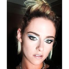Getting Ready For Met Gala '16 With Kristen Stewart. Makeup artist Jillian Dempsey.