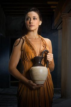 KORE Jenna Lind Kore is a loyal slave to Marcus Crassus, the Roman tasked with bringing an end to Spartacus and his rebellion. Her deep feelings for her master will be tested by spiraling events.