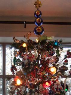 Follow the Star, 3 tier tree topper by Christopher Radko