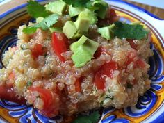Clean Eating Cilantro Lime Quinoa