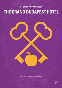 The Grand Budapest Hotel (2014) ~ Minimal Movie Poster by Chungkong #amusementphile