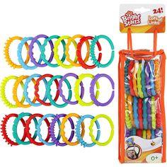 Aros para colgar juguetes Bright Starts - $ 129  en Mesa de Regalos de Liverpool