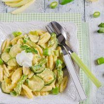 Découvrez la recette de Pâtes courgettes aioli, Plat à réaliser facilement à la maison pour 4 personnes avec tous les ingrédients nécessaires et les différentes étapes de préparation. Régalez-vous sur Recettes.net