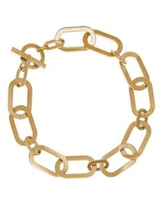 Michael-Kors-MKJ4605710-Large-Chain-Gold-tone-Toggle-Statement-Necklace-NEW-225