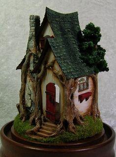 Make It Your Own Cottage kit 1/4 scale, Acorn Wood - $65.00 : Jill Castoral, Miniatures & More