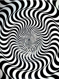 Bridget Riley optical art