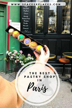 pastry shop Odette in Paris near Notre Dame, patisserie