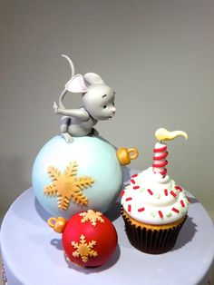 how to: mouse cake tutorial #candle #cake #birthday