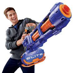 Nerf N-Strike Elite Titan Blaster met 50 Darts Big Nerf Guns, Nerf Darts, Car Bedroom, Bedroom Ideas, Master Bedroom, Nerf Toys, Vito, Toys Uk, Cool Toys