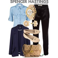 Inspired by Pretty Little Liars character Spencer Hastings played by Troian Bellisario.