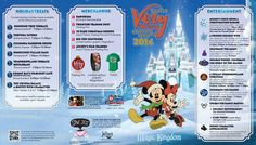 Mickey's Very Merry Christmas Party 2014 guide map - Photo 1 of 2