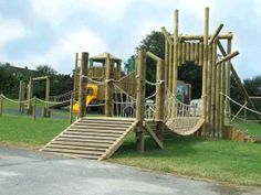 Playground made safe and secure with anti slip strips