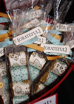 Stuck on Stampin': Craft Bazaar Round-Up 2011.... some of these would make adorable co-worker gifts