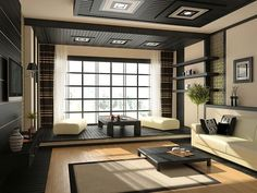 japanese style bedroom ---- how i would love to set up my spare