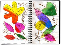 Art Projects for Kids: Tissue Leaves and Metallic Markers, like our Infinity Metallic Permanent Markers Fall Art Projects, Projects For Kids, Arte Elemental, Warm And Cool Colors, Learn Art, Autumn Art, Art Classroom, Classroom Ideas, Teaching Art
