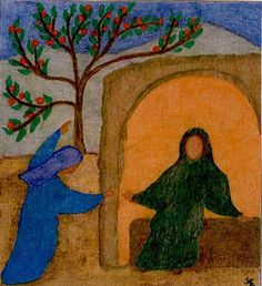 • The painting of Mary and Elizabeth is by: Brother Sylvain of Taize