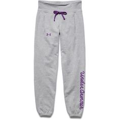 Under Armour Girl's Downtown Pant (Silver Heather)