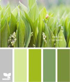 Bedroom colors grey green design seeds 61 new Ideas Design Seeds, Colour Pallete, Colour Schemes, Color Combos, Color Palettes, Spring Green, Spring Colors, Palette Verte, Color Stories