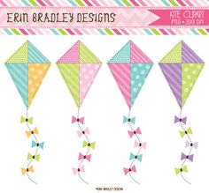This week's new designs include roller skating party graphics and matching digital papers as well as kite clip. Kites For Sale, Bujo, Clock Clipart, Roller Skating Party, Go Fly A Kite, Spring Images, Clipart Design, Mary Poppins, Embroidery Files