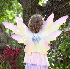 ProductDetail: Accessories Makeup: Wings Wands Name: Dawn Fairy Child Wings ID: 62158