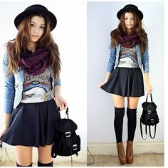 Outfit - thigh highs