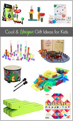 Gift Ideas for Kids: Cool and Unique Toys~ buggyandbuddy.com