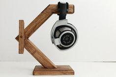 Wood Headphone Stand/ Multiple Headphone Stand/Headphone Station X