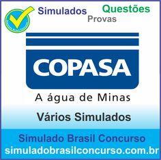 Concurso Copasa-MG 2014.  Novos Simulados e Questões da Copasa-MG 2014.  http://simuladobrasilconcurso.com.br/simulados/concursos/?filtro_concurso=851  #SimuladoBrasilConcurso, #ProvaCopasa