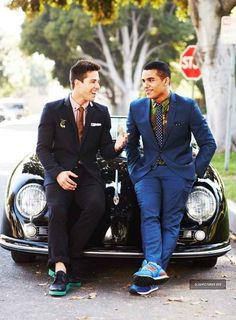 Can we have a moment of silence for these new Glee cuties? Dean Geyer & Jacob Artist