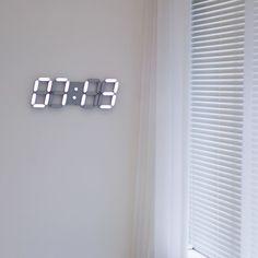 Roiretniroiretni gray smart led digital wall clock / wall clock / wall clock – Clock World Cream Aesthetic, Aesthetic Colors, Aesthetic Images, Aesthetic Food, Led Wall Clock, Digital Wall, Mocca, Pastel Wallpaper, Packaging Design Inspiration