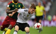 Werner brace fires Germany into semi against Mexico