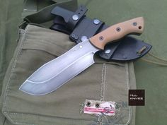 Show me your custom camp knife/chopper. - Page 67