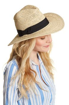 Melrose and Market Woven Panama Hat
