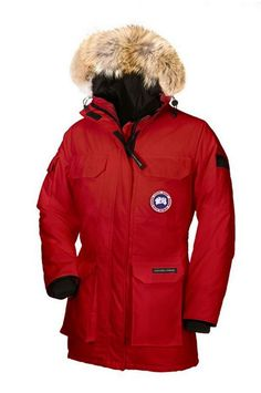 Canada Goose Expedition Parka Women Red