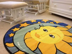 Project Nursery - Area rug - I WANT ONE - the rug, not the nursery...